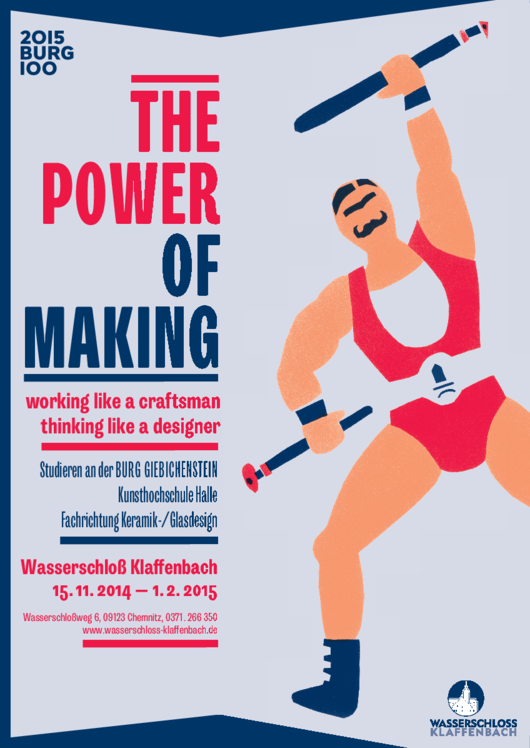 "Plakat ""The Power of Making"""