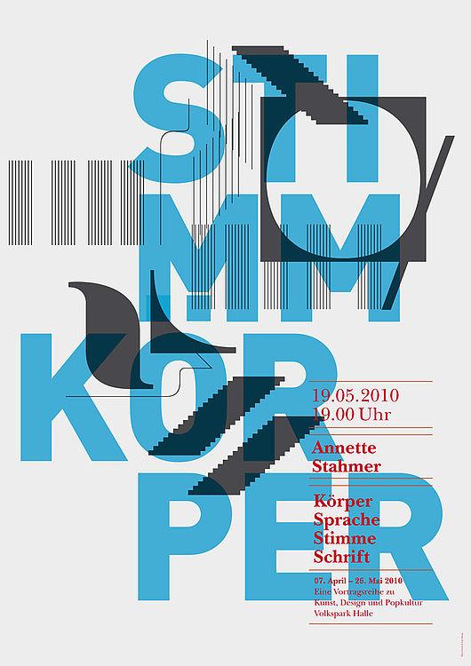 Typografische Anschläge