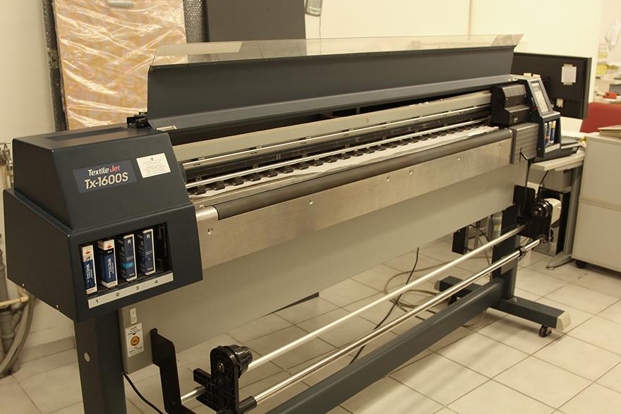 digitaler Textildrucker