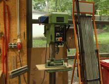 Säulenbohrmaschine / Holzwerkstatt / Designcampus