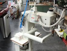 Heizkeilschweißmaschine / Kunststoffwerkstatt / Designcampus