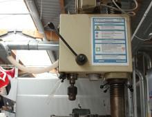 Tischbohrmaschine / Kunststoffwerkstatt / Designcampus