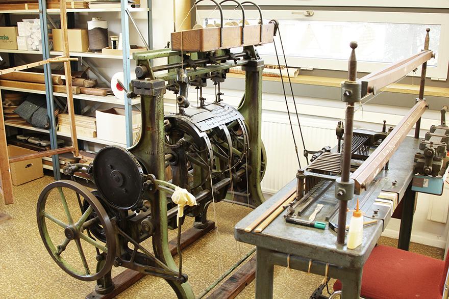 Lochkartenschlagmaschine