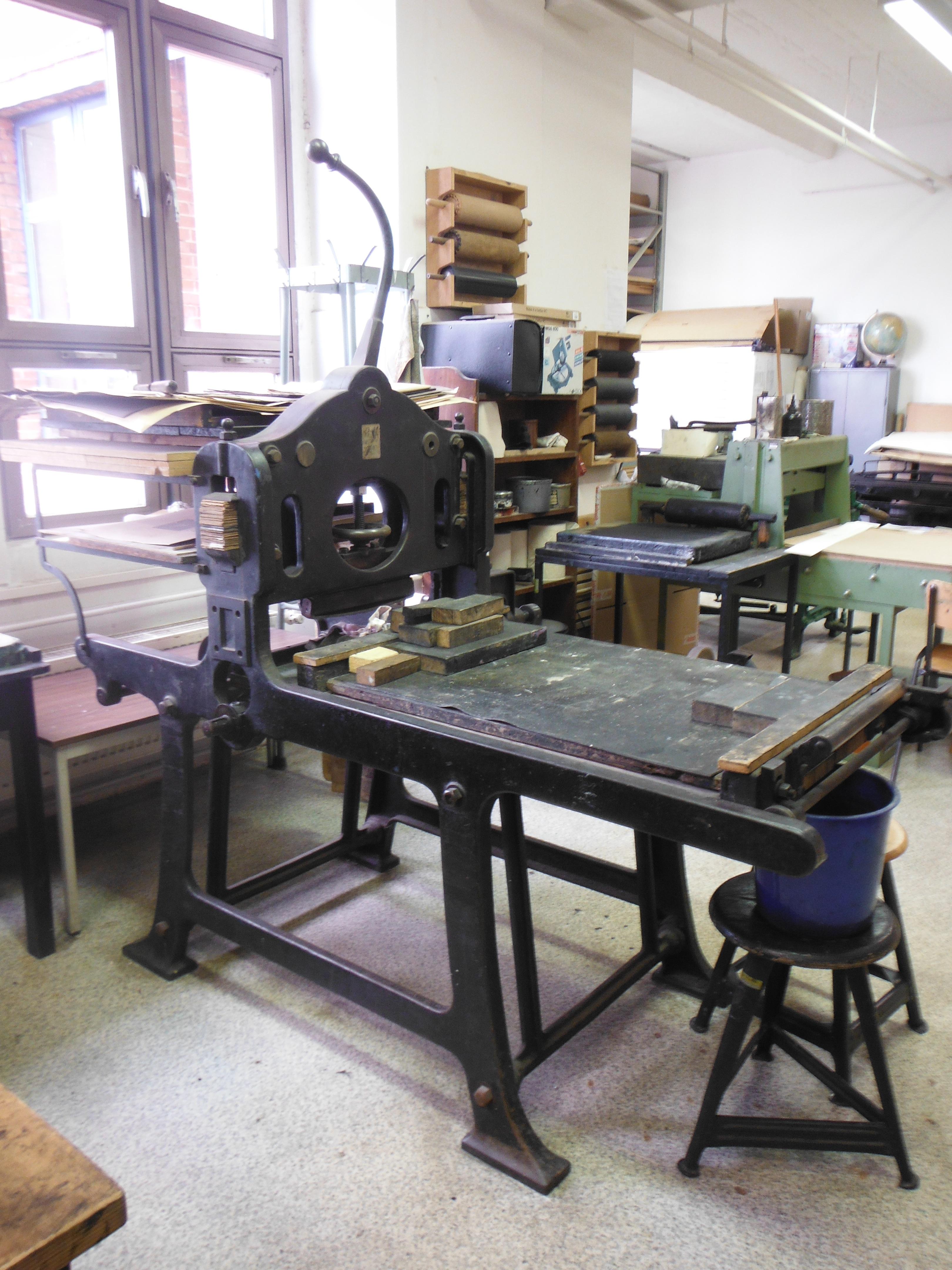 Lithographiepressen