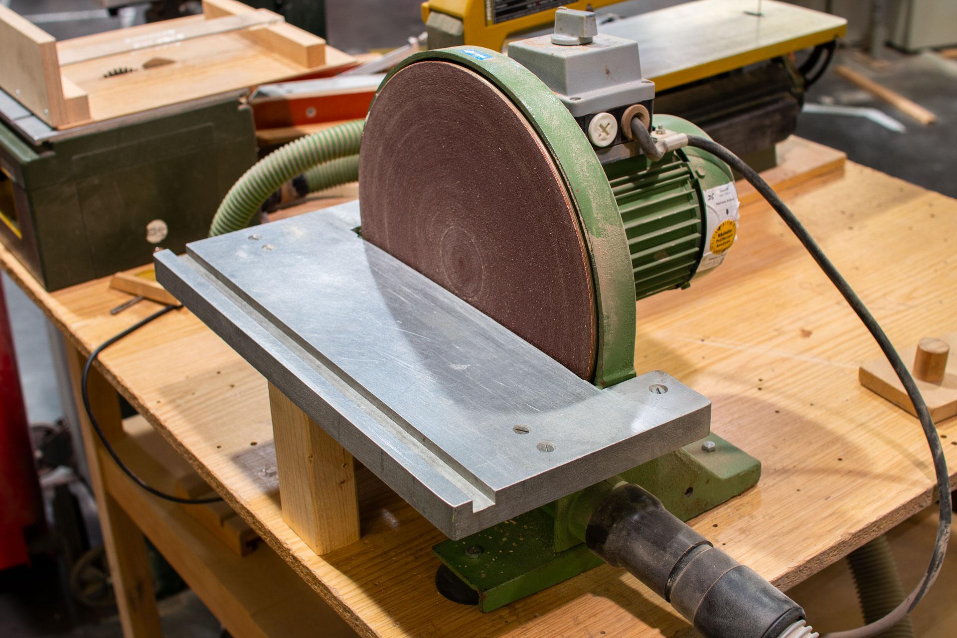 Tellerschleifmaschine (klein)