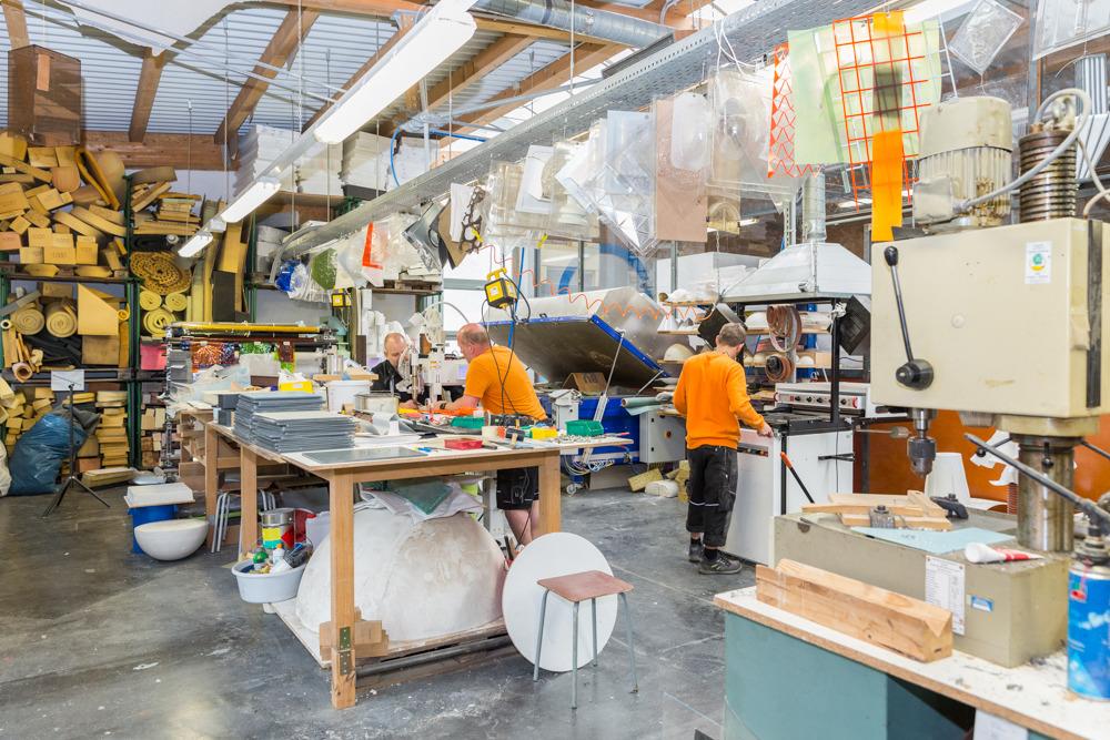 Modellbauwerkstatt kunststoff ii for Halle innenarchitektur