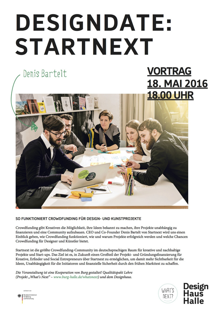 Poster Startnext Designhaus Print